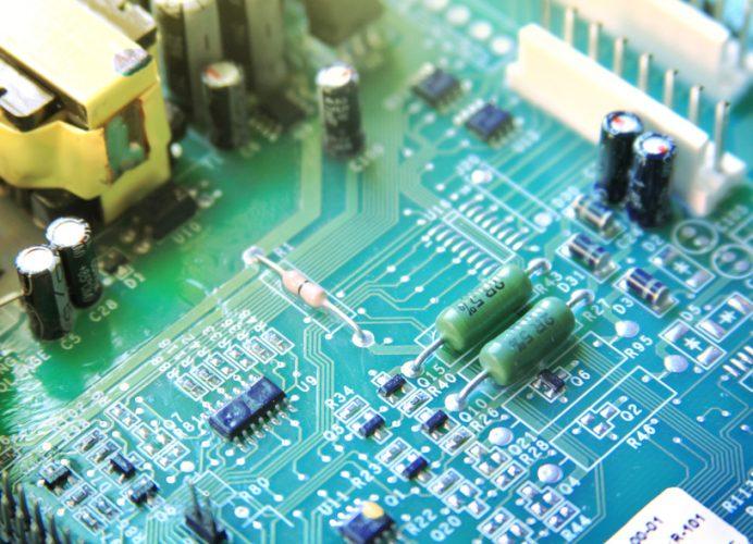 prototype printed circuit board