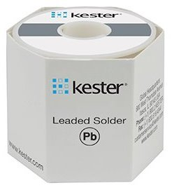 Kester Wire Solder, Sn63/Pb37, # 245 No-Clean Flux, 1-lb. Roll