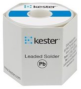 Kester Wire Solder, Sn96.5/Ag3.0/Cu0.5, # 331 Water-Soluble Flux, 1-lb. Roll