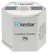 Kester Wire Solder, SN96.5Ag3.0Cu0.5, # 275 No-Clean Flux, 1-lb. Roll